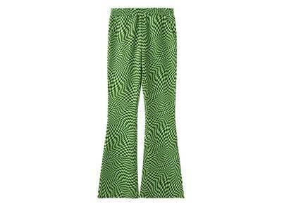 X-Girl Easy Flare Pants A Light Greenの写真