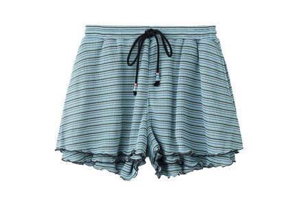 X-Girl Easy Flare Short Pants Light Blueの写真