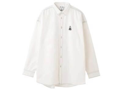 X-Girl Emdroidery Face Shirt Whiteの写真