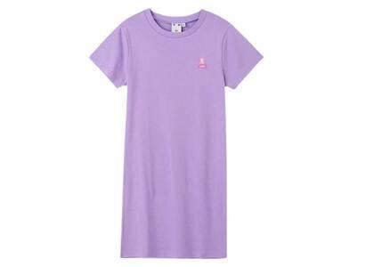 X-Girl Face Compact S/S Tee Dress Light Purpleの写真