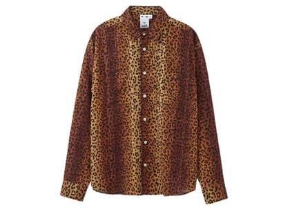 X-Girl Gradation Leopard Shirt Brownの写真