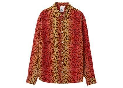 X-Girl Gradation Leopard Shirt Orangeの写真