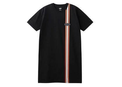 X-Girl Line S/S Tee Dress Blackの写真