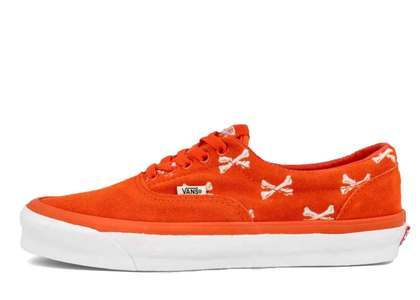 Wtaps × Vans  OG Era LX Cross Bone Orange 20FW