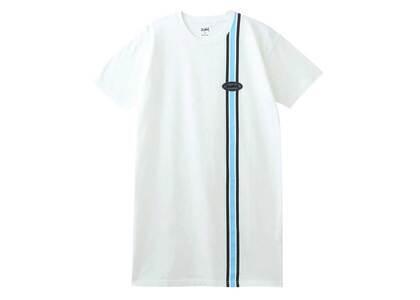X-Girl Line S/S Tee Dress Whiteの写真