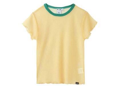 X-Girl Mesh Baby Top Yellowの写真