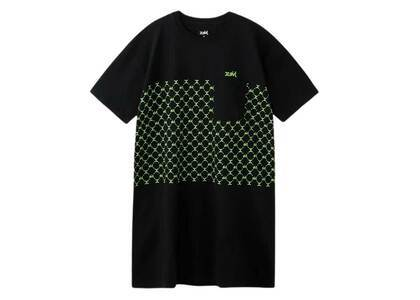 X-Girl Monogram S/S Tee Dress Blackの写真