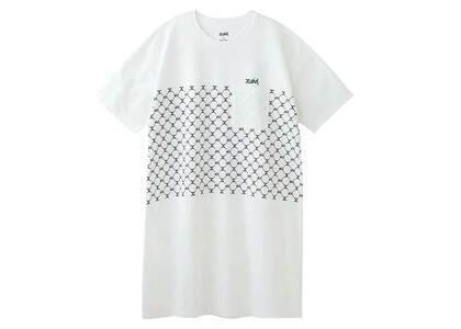 X-Girl Monogram S/S Tee Dress Whiteの写真