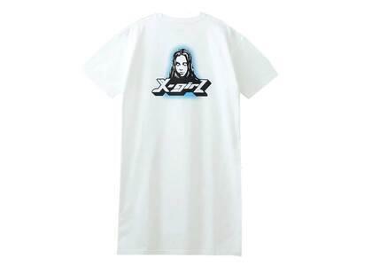 X-Girl New Age Face S/S Tee Dress Whiteの写真