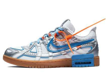 Off-White × Nike Air Rubber Dunk University Blueの写真