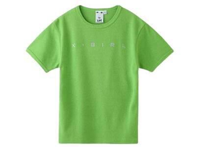 X-Girl One Star Logo S/S Baby Tee Light Greenの写真