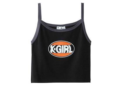 X-Girl Oval Logo Camisole Blackの写真