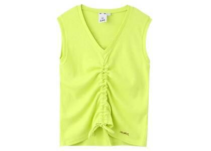 X-Girl Shirred Tank Top Light Greenの写真