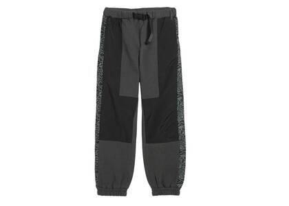 X-Girl Sweat × Nylon Lounge Pants Blackの写真