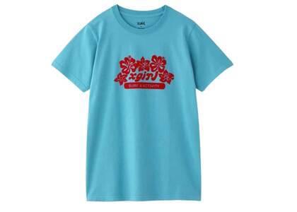 X-Girl Topical Surf S/S Regular Tee Blueの写真