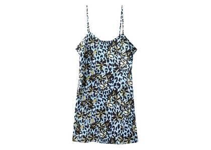 X-GirlFloral Leopard Aloha Camisole Dress Light Blueの写真