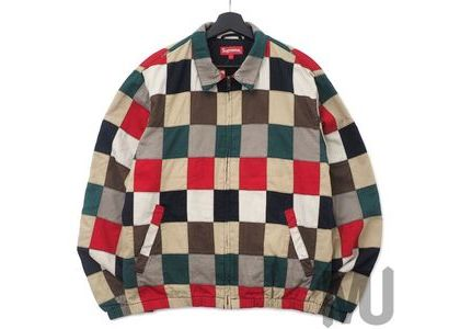 Supreme Patchwork Harrington Jacket Multicolorの写真