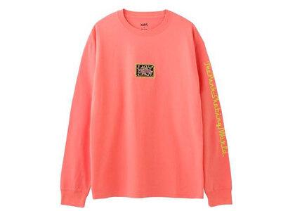 X-Girl Leopard Box L/S Tee Orange (Front Logo)の写真