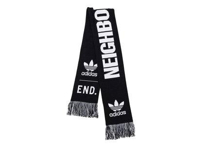 END. × adidas × Neighborhood Supporters Scarf Blackの写真