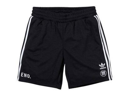 END. × adidas × Neighborhood Team Shorts Blackの写真