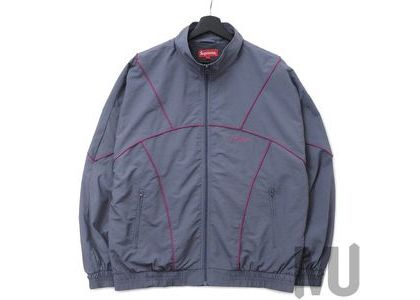 Supreme Piping Track Jacket (SS19) Greyの写真