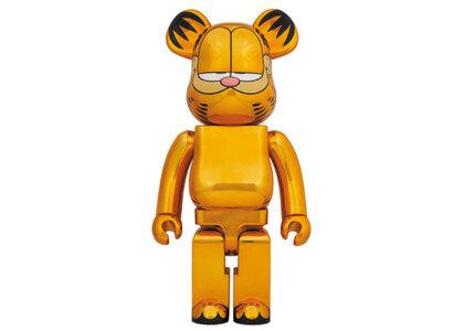 Be@rbrick Garfield Gold Chrome Ver 1000%の写真
