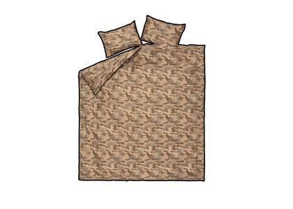 Supreme Logo Camo Duvet + Pillow Set Brown (SS21)の写真
