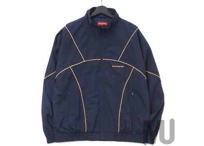 Supreme Piping Track Jacket (SS19) Navyの写真