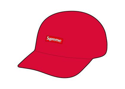 Supreme String Camp Cap Red (SS21)の写真