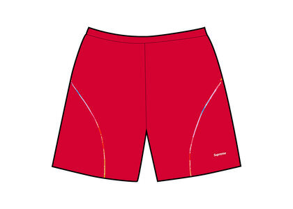 Supreme Gradient Piping Water Short Red (SS21)の写真