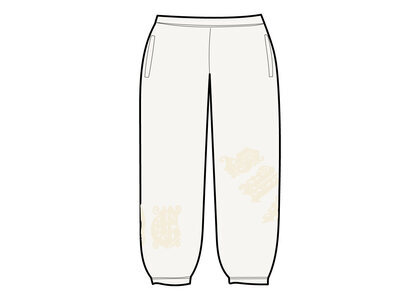 Supreme Old English Wrap Sweatpant White (SS21)の写真