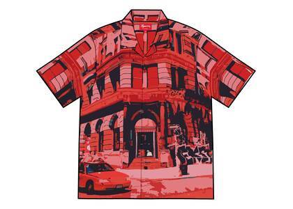 Supreme 190 Bowery Rayon S/S Shirt Red (SS21)の写真