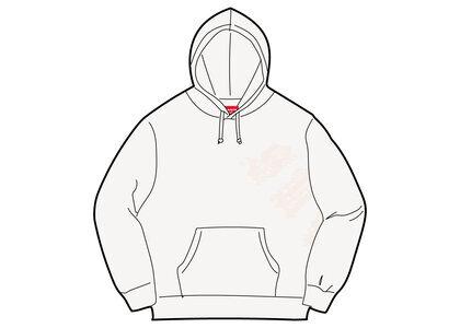 Supreme Old English Wrap Hooded Sweatshirt White (SS21)の写真