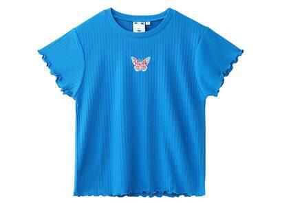 X-Girl Butterfly Baby Top Blueの写真