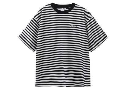 X-Girl Striped H/S Tee Blackの写真
