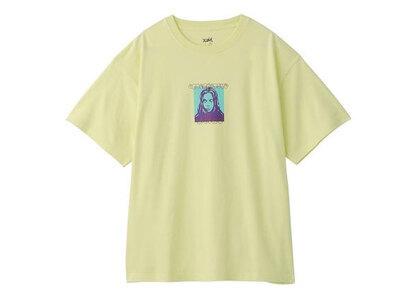 X-Girl Face S/S Mens Tee Yellowの写真