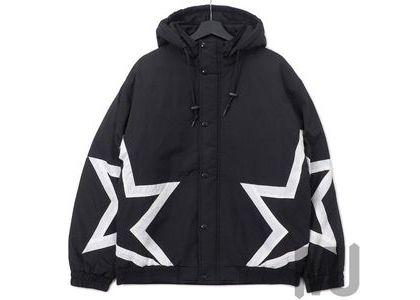 Supreme Stars Puffy Jacket Blackの写真