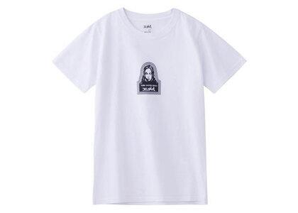 X-Girl Face S/S Regular Tee Whiteの写真