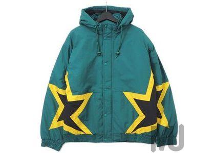 Supreme Stars Puffy Jacket Dark Greenの写真