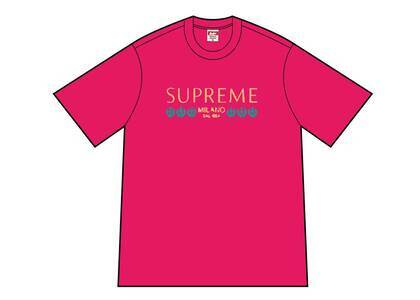 Supreme Milano Tee Pink (SS21)の写真