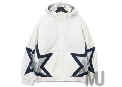 Supreme Stars Puffy Jacket Whiteの写真