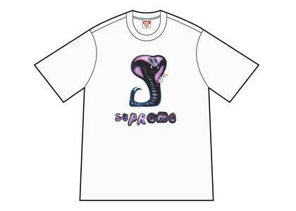 Supreme Snake Tee White (SS21)の写真