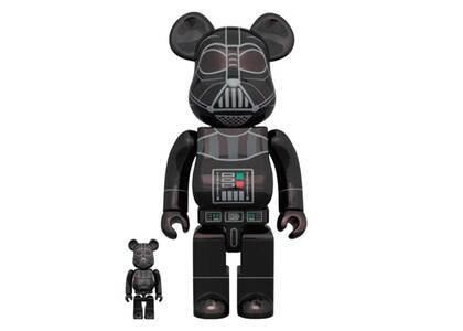 Be@rbrick Darth Vader (Rogue One Ver.) Chrome Ver.100% & 400%の写真