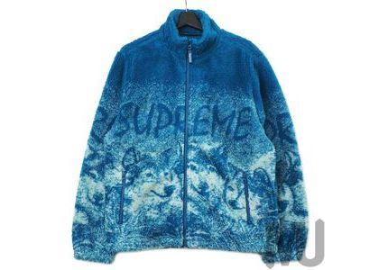 Supreme Wolf Fleece Jacket Dark Tealの写真