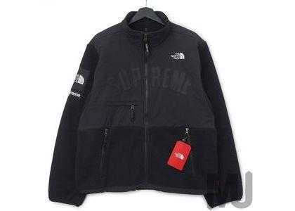 Supreme The North Face Arc Logo Denali Fleece Jacket Blackの写真