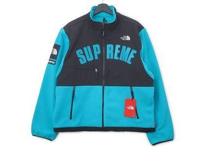 Supreme The North Face Arc Logo Denali Fleece Jacket Tealの写真