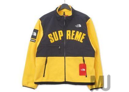 Supreme The North Face Arc Logo Denali Fleece Jacket Yellowの写真