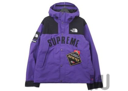 Supreme The North Face Arc Logo Mountain Parka Purpleの写真