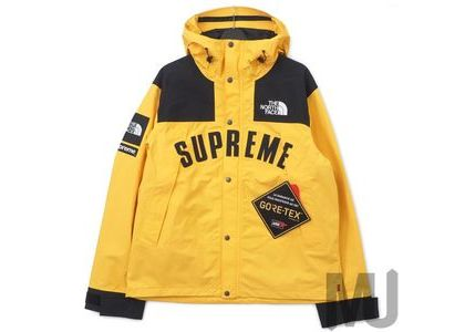 Supreme The North Face Arc Logo Mountain Parka Yellowの写真