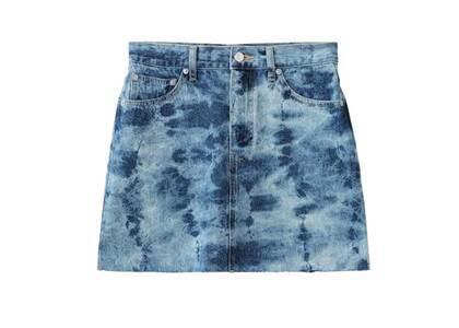 X-Girl Bleached Denim Skirt Indigoの写真